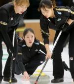 여자컬링 '팀 민지', 일본 꺾고 세계주니어선수권 8연승
