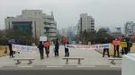 ASF희생농가비대위 '사육돼지 재입식 기준 마련 촉구' 시위
