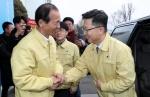 """1주 만에 다시 강원 찾은 김현수 장관 """"ASF 전략적 방역 이뤄져"""""""