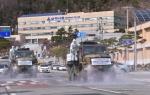 23보병사단 제독차 투입 도로 방역