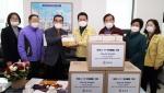홍천군 자체생산 마스크 노인회 전달