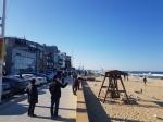 바닷가·월화거리 등 지역명소 관광객 발길