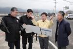 조인묵 양구군수 주요사업장 현장점검