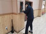 화천소방서 총선투표소 안전점검