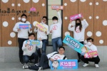 지역청년 10여명 투표 독려 거리캠페인