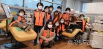 강릉여성의용소방대 코로나19 극복 헌혈 동참