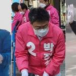 선거 운동 '거리두기' 지키며 차분한 출발