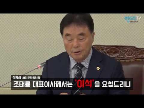 강원도, 강원FC 특별검사 보고