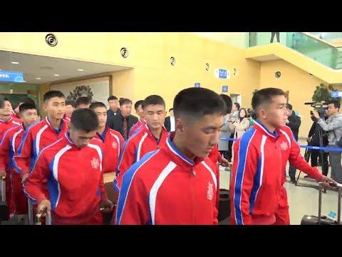 아리스포츠컵 국제유소년축구대회 북측선수단 방남