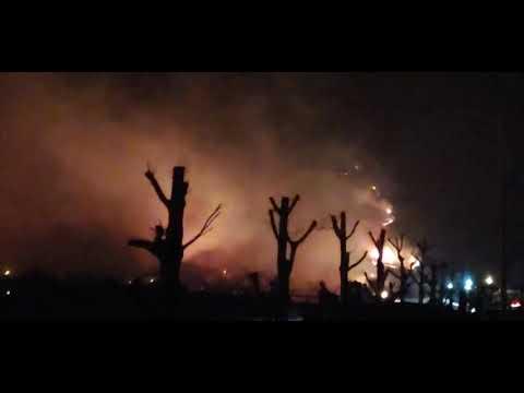강릉 옥계 산불 현장