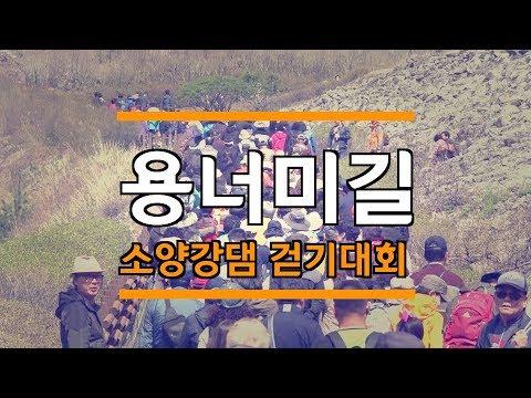 봄기운 가득한 '소양강댐 용너미길 걷기대회'