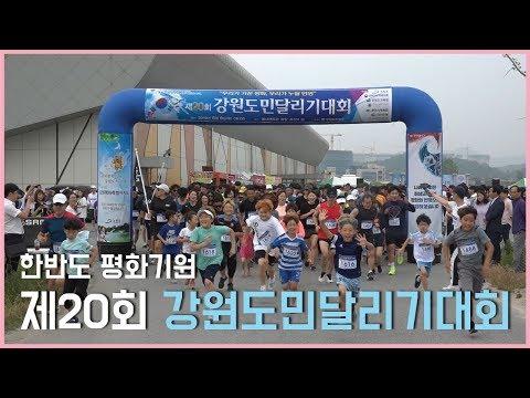 '한반도 평화기원' 강원도민달리기 대회