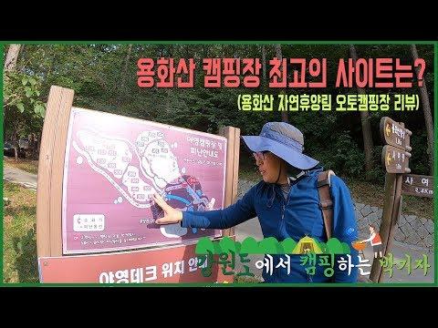 [캠핑하는 박기자] 3편. 용화산 캠핑장 최고 명당자리를 찾아라