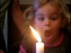 생일 촛불 끄기