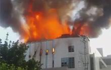 [생중계] 춘천중앙교회 큰 불… 진화 중